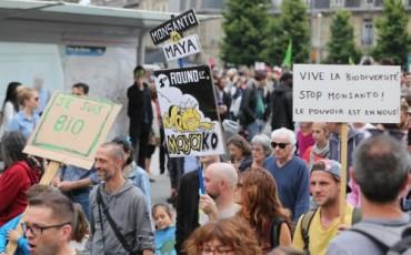 protest tegen pesticiden